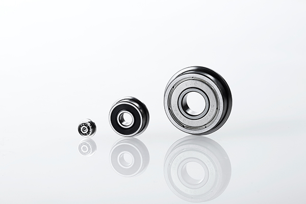 Flanged extra-miniature/miniature/small bearings