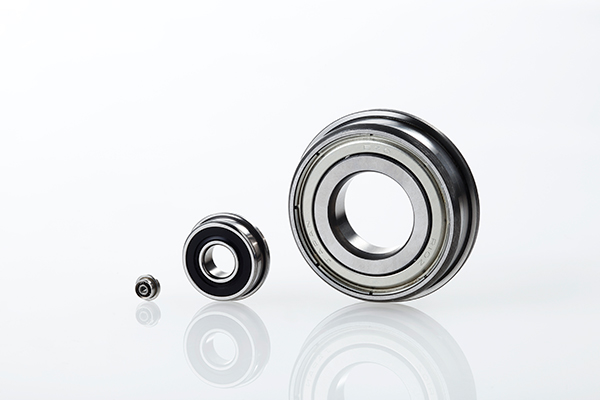 Flanged inch-series bearings